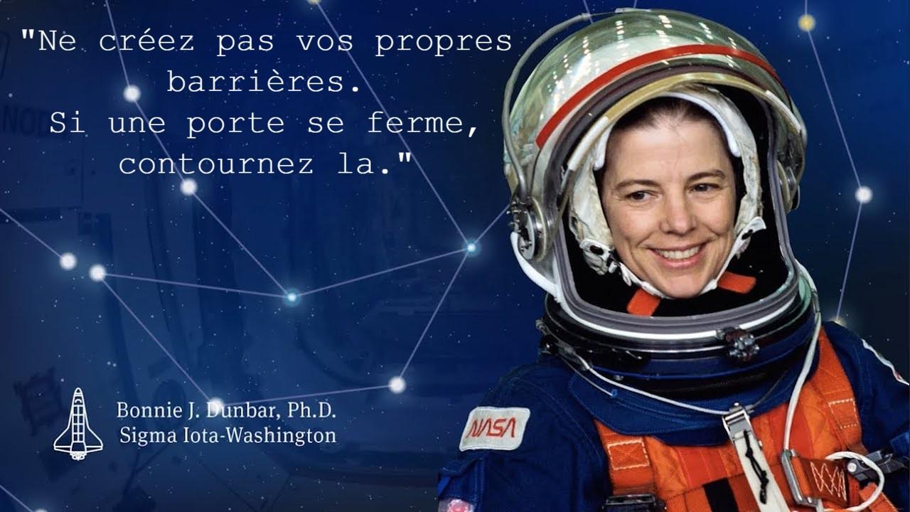 Astronaute Bonnie Dunbar